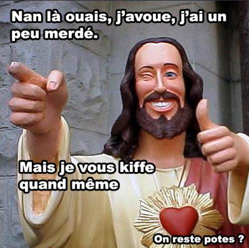 image drole jesus